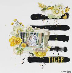 Sweet tiger - Scrapbook.com