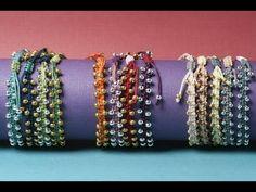 easy bracelet macrame | - YouTube