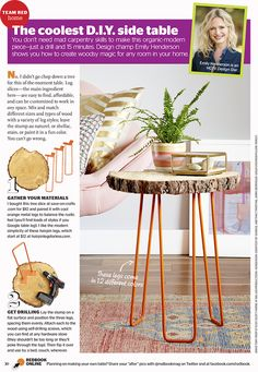 Welcome to another Team Red DIY. We all know that hairpin legs are having a moment – well they've been having a moment for a while but because they are so popular its now really easy for us to make ourselves. I mean this DIY is really just about finding the resources (we give them... Read More …