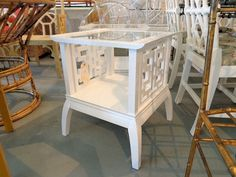 Fretwork Pagoda Side Tables - CIRCA WHO IS THE COOLEST SITE EVER!!!!!