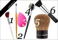 A Guide to Makeup Brushes: Which Ones to Use andWhen   Beauty High
