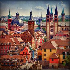 Alemanha - Bavária - Wurzburg - Casario