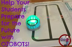 Ozobots from The Tra