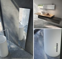 Modern home radiators and towel warmers have come a long, long way. Now they are pieces of art as much as a small appliance. So many different types and ideas. Small Appliances, Home Appliances, Mirror Radiator, Home Radiators, Towel Warmer, Luxury Bath, Bath Remodel, Ideal Home, Bathtub