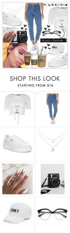"""""""#43"""" by s-fashionalien ❤ liked on Polyvore featuring Nasty Gal, Wrangler, Puma, Fujifilm, Cotton Candy and SO"""