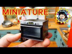 미니어쳐 광파오븐 만들기 (드디어 만듬+ㅁ+) Miniature - Oven / 미미네미니어쳐 - YouTube