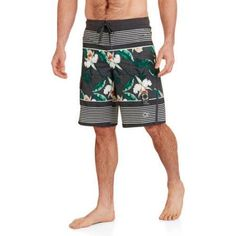 Op Men's Floral Stretch E-Board Short, Size: 2XL, Multicolor