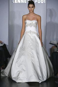 Kenneth Pool Majesty Ball Gown - Nearly Newlywed Wedding Dress Shop