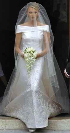 Princess Charlene véu