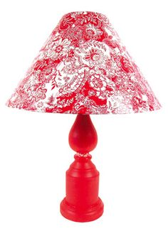 Decopatched lamp!