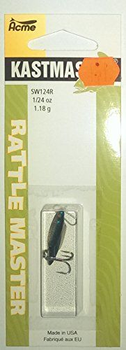 Acme Kastmaster Rattle Bait , Eagle Claw Pro-V Bend ounce Chrome Neon Blue Model # , , Eagle Claw, Fishing Bait, Chrome, Neon, Model, Blue, Scale Model, Neon Colors