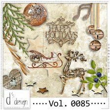 Vol. 0085- Christmas Mix  by Doudou's Design  cudigitals.com cu commercial scrap scrapbook digital graphics#digitalscrapbooking #photoshop #digiscrap