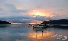 GOlfito sunset