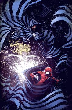 Spider-Man, Cloak and Dagger by *skottieyoung on deviantART