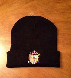 Hat with National Spanish Soccer team logo