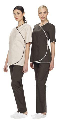Housekeeping staff uniform design hotel uniform 10 30 for Uniform spa italy