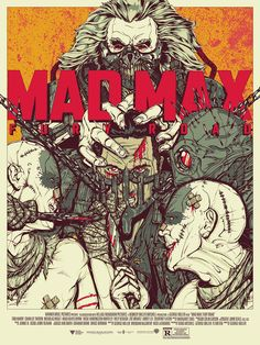 MAD MAX: FURY ROAD POSTER by BONEFACE (Not a comic art)