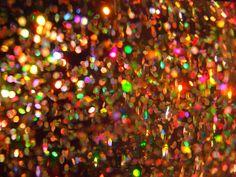 Sparkles    Inside of glitter lava lamp.