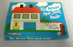 Vintage The House That Jack Built Board Game by Spears Games | eBay