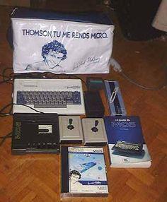 Michel Platini endorses Thomson MO5 2/6