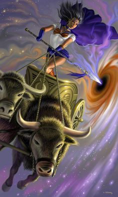 Sailor Taurus by AlanGutierrezArt.deviantart.com on @deviantART