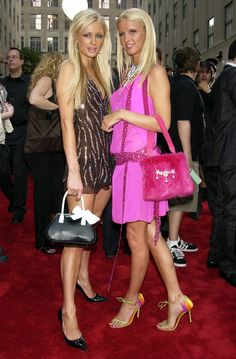 Nicky Hilton and Paris Hilton, 2003