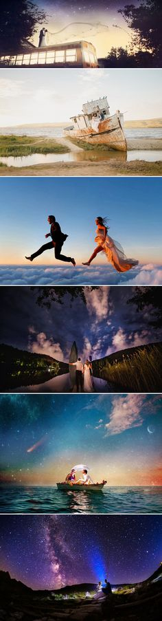 24 Wedding Photos That Look Like They Belong in Fairy Tales - A Whole New World!