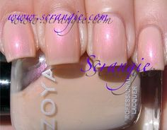 Zoya Dovey (Palest Sheer Pearlescent/Opalescent Pink)