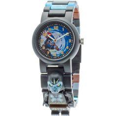 Lego Legends of Chima Gorzan Kid's Wrist Watch, Black