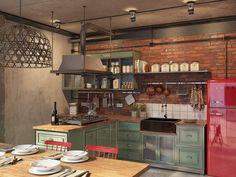 [Projects] Reinvención de un espacio industrial en loft – Virlova Style