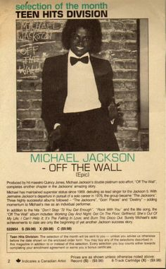 Michael Jackson Off The Wall...