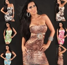 Bandeau Rhinestones Minidress with Cutout One Size Winter Club, Prom Dresses, Formal Dresses, Clubwear, Rhinestones, Party Dress, Womens Fashion, Tops, Dresses For Formal