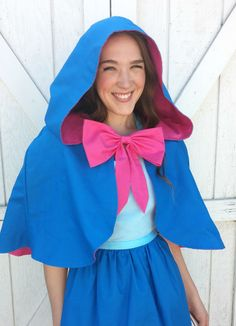 Teen/ Adult Fairy Godmother CAPE Cloak. by QueenElizabethAprons