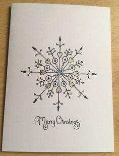 Christmas Doodles, Christmas Card Crafts, Christmas Cards To Make, Christmas Art, Holiday Cards, Watercolor Christmas Cards, Christmas Drawing, Theme Noel, Diy Cards