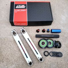 REDLINE Flight American Bottom Bracket Set fits 19 mm spindles and profile