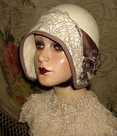 Early in the millinery class, the instructor said that we'd be doing cloche's as one of our projects. I wasn't too enthusiastic about that, because I never found a cloche that looked good on me. H...