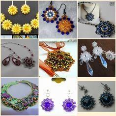 Bijoux components - Svět korálků Korálková výzva Crochet Earrings, Swarovski, Jewelry, Fimo, Jewlery, Jewerly, Schmuck, Jewels, Jewelery