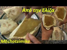 Cypriot skewer pies from Eliza Skewers, Tacos, Mexican, Bread, Ethnic Recipes, Youtube, Food, Kitchens, Brot