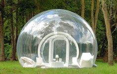 Backyard bubble