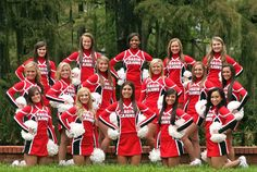 All Girl Cheerleading Squad # Cheer photography Cheerleading Picture Poses, Cheer Picture Poses, Cheer Poses, Picture Outfits, Dance Team Pictures, Cheer Team Pictures, Squad Pictures, Family Pictures, Youth Cheer