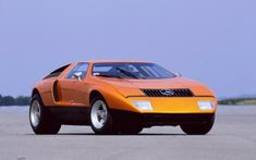 1969 MERCEDES-BENZ C111 - Wankel rotary engine R&D vehicle.