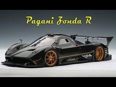 Видео обзор автомобиля Pagani Zonda R со всех сторон