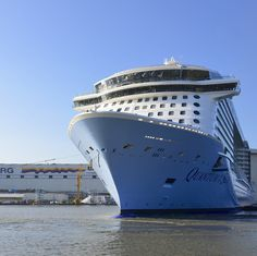 The countdown continues. Quantum of the Seas makes her way to the US in less than two months.