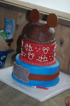 Cowboy Mickey Birthday Party Ideas | Photo 17 of 25 | Catch My Party