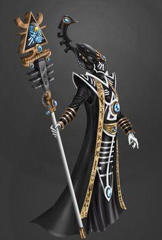 Eldrad by Eliphusz on DeviantArt Eldar 40k, Warhammer Eldar, Dark Eldar, Elf Characters, Warhammer 40k Miniatures, Space Marine, Sci Fi Fantasy, Fantasy Artwork, Character Concept