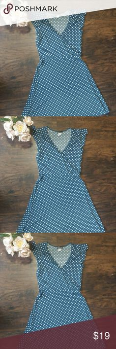 """Wet Seal Vintage Style Polka Dot Dress. Super Cute. Excellent Condition. 38"""" Length. 100% Polyester. Wet Seal Dresses"""