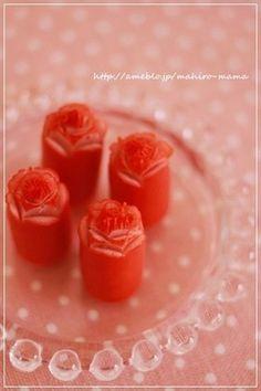 「バラの飾り切り」が簡単&キレイ!