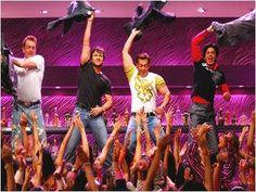 Sanjay Dutt, Saif Ali Khan, Salman Khan and Shahrukh Khan - Om Shanti Om - ॐ शांति ॐ - (2007)  Source: planetbollywood.com
