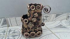 Reciclaje vas pentru flori--Reciclaje vessel for flowers