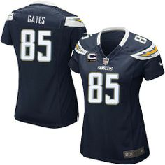 new style cec96 ff247 Antonio Gates Jersey: Authentic Chargers Women's Youth Kids ...
